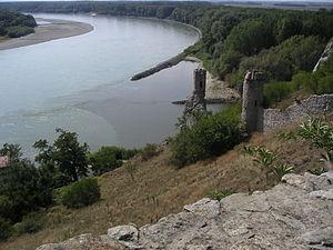 Devín - Devín Castle above the Danube
