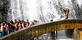 Devine bath at kuttaalam 1 by Joseph Lazer.jpg