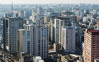 Dhaka capital and largest city of Bangladesh