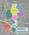Dhaka Division districts map.png