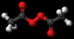 Diacetyl peroxide - Image: Diacetyl peroxide 3D balls