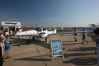Diamond DA42 - A DA42 at the MAKS Airshow in Moscow, 2007