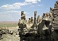 Differentially cemented & eroded sandstone (member C, Uinta Formation, Eocene; Fantasy Canyon, Utah, USA) 16 (24217653003).jpg
