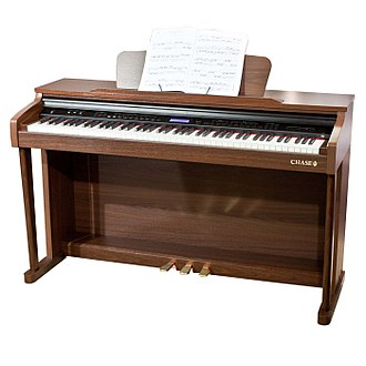 Digital piano - A typical digital piano