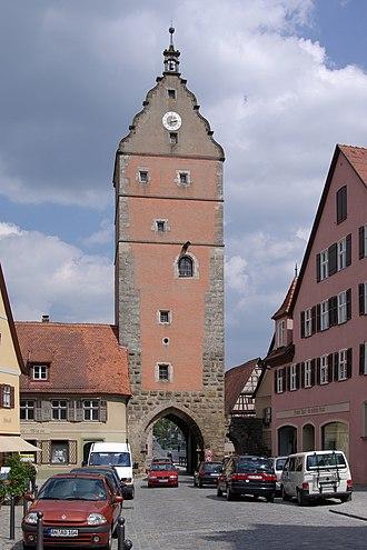 Dinkelsbühl - Image: Dinkelsbuehl BW 1