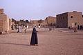 Djenné, Mopti, Mali. Près de la Grande Mosquée au petit matin. Date du cliché 27-12-1972.jpg