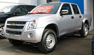 Isuzu D-Max - Facelift Chevrolet D-Max LS (Chile)