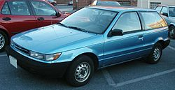 Sixth generation Dodge Colt 3-door