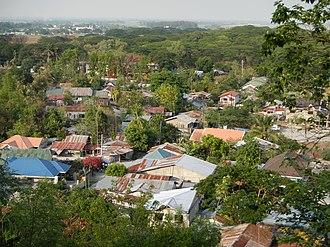 Bamban, Tarlac - Aerial view
