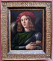 Domenico capriolo, ritratto di giovane in armatura, 1520 ca.JPG