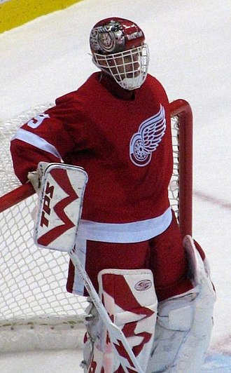 Vezina Trophy - Dominik Hasek, six-time winner.