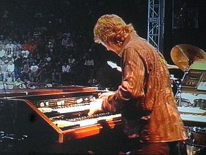 Don Airey - Airey performing with Deep Purple, 2008