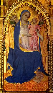 Madona, Florencie, kolem roku 1410