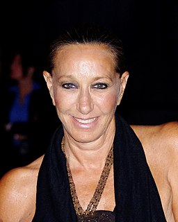 Donna Karan American fashion designer