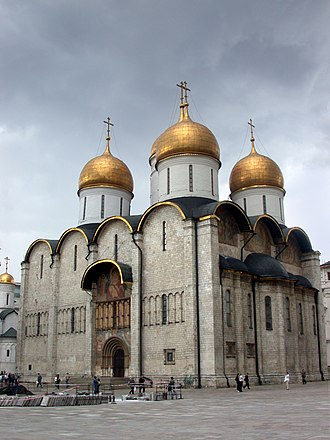 Coronation of the Russian monarch - The Cathedral of the Dormition, where Russian coronations were held.