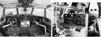 Dornier Do 26 - Interior of the Do 26A