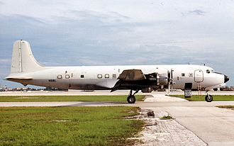 1961 Ndola United Nations DC-6 crash - A DC-6 similar to the accident aircraft