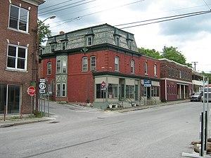 Richford, Vermont - Downtown Richford