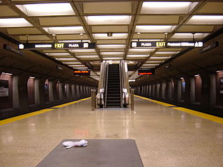 BART Station in Berkeley, California
