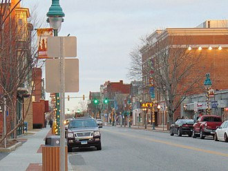 Willimantic, Connecticut - Image: Downtown Willimantic