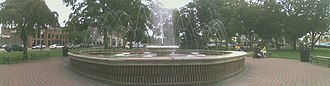 Plymouth, Michigan - Kellogg Park's Fountain