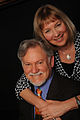 Dr. Warren Farrell and wife Liz Dowling on a cruise in Scandinavia in 2013.jpg