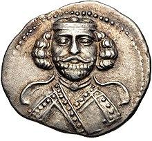 Drachme van Phraates III, Ecbatana mint.jpg