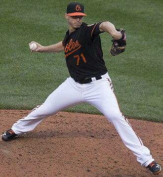 Oliver Drake (baseball) - Drake with the Baltimore Orioles