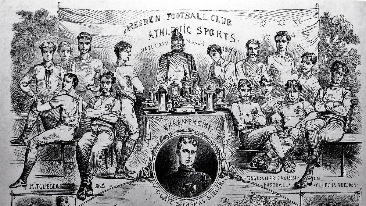 History of football and English football clubs