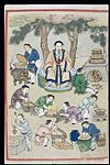 Drug preparation, C16 Chinese painted book illustration Wellcome L0039983.jpg