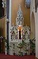 Dublin St. Mary of the Angels Church Side Altar Saint Francis 2012 09 28.jpg
