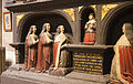 Dublin St. Patrick's Cathedral Nave Boyle Monument Detail Kneeling Daughters and Infant Son 2012 09 26.jpg