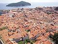 Dubrovnik-panorama from town walls.JPG