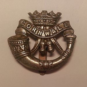 Duke of Cornwall's Light Infantry - Badge of the Duke of Cornwall's Light Infantry