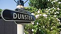 Dunster Railway Station sign - geograph.org.uk - 1554031.jpg