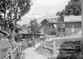 Durchmarsch der Maultierkolonne durch ein Walliser Dorf - CH-BAR - 3239704.tif