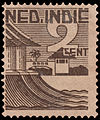 Dutch East Indies Houses, 2cents (undated).jpg
