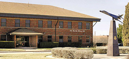 7th Bomb Wing Headquarters - Dyess Air Force Base
