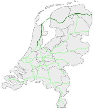 European route E22 in the Netherlands - Image: E22Nederland