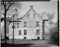 EAST ELEVATION - Fort Sheridan, Captains' Quarters, 149 Logan Loop, Lake Forest, Lake County, IL HABS ILL,49-FTSH,1-3-2.tif