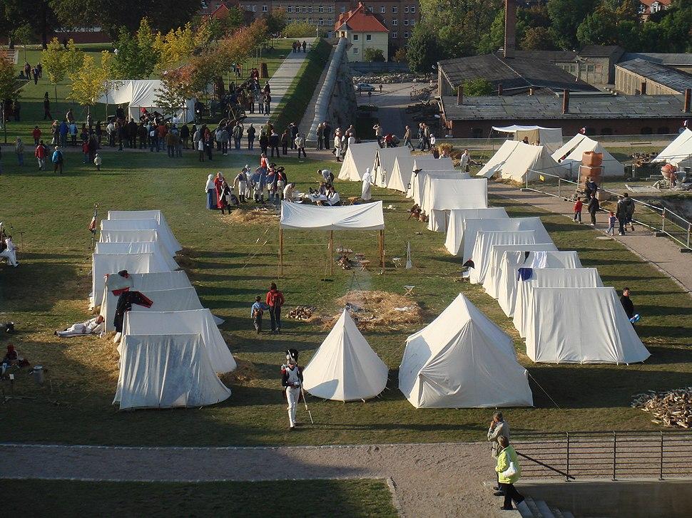 EF Fürstenkongress Biwaklager