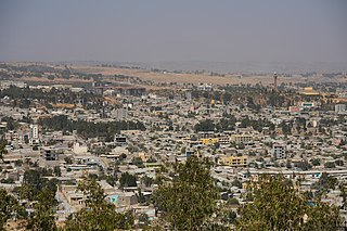 Mekelle capital of Tigray Region, Ethiopia