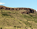 Early Paleocene lava flows cap the summit of North Table Mountain..jpg