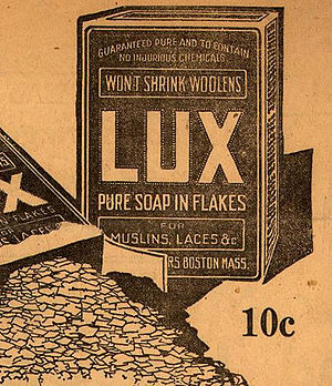 Lux (soap) - Lux beginnings