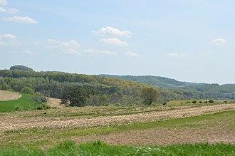 East Mahoning Township, Indiana County, Pennsylvania - Fields along Pennsylvania Route 210
