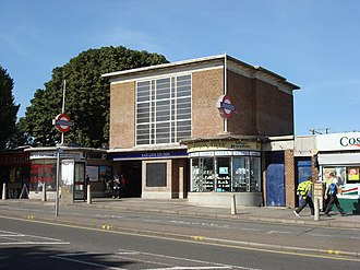Eastcote - Eastcote tube station was originally built as a halt in 1906