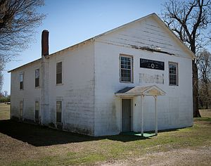National Register of Historic Places listings in Clay County, Arkansas - Image: Eastern Star Lodge 207 F&AM