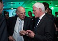 Econ Drinks 14 - Vince Cable Alistair Darling (15804611579).jpg
