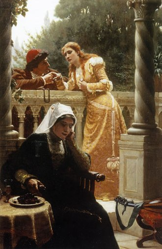 Secrecy - Image: Edmund Blair Leighton A Stolen interview