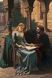 Abelard and his pupil, Héloïse, by Edmund Blair Leighton